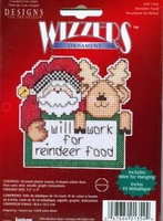 Wizzers Will Work For Reindeer Food PC Kit