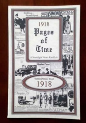 1918 Trivia Booklet - 100th Birthday Book