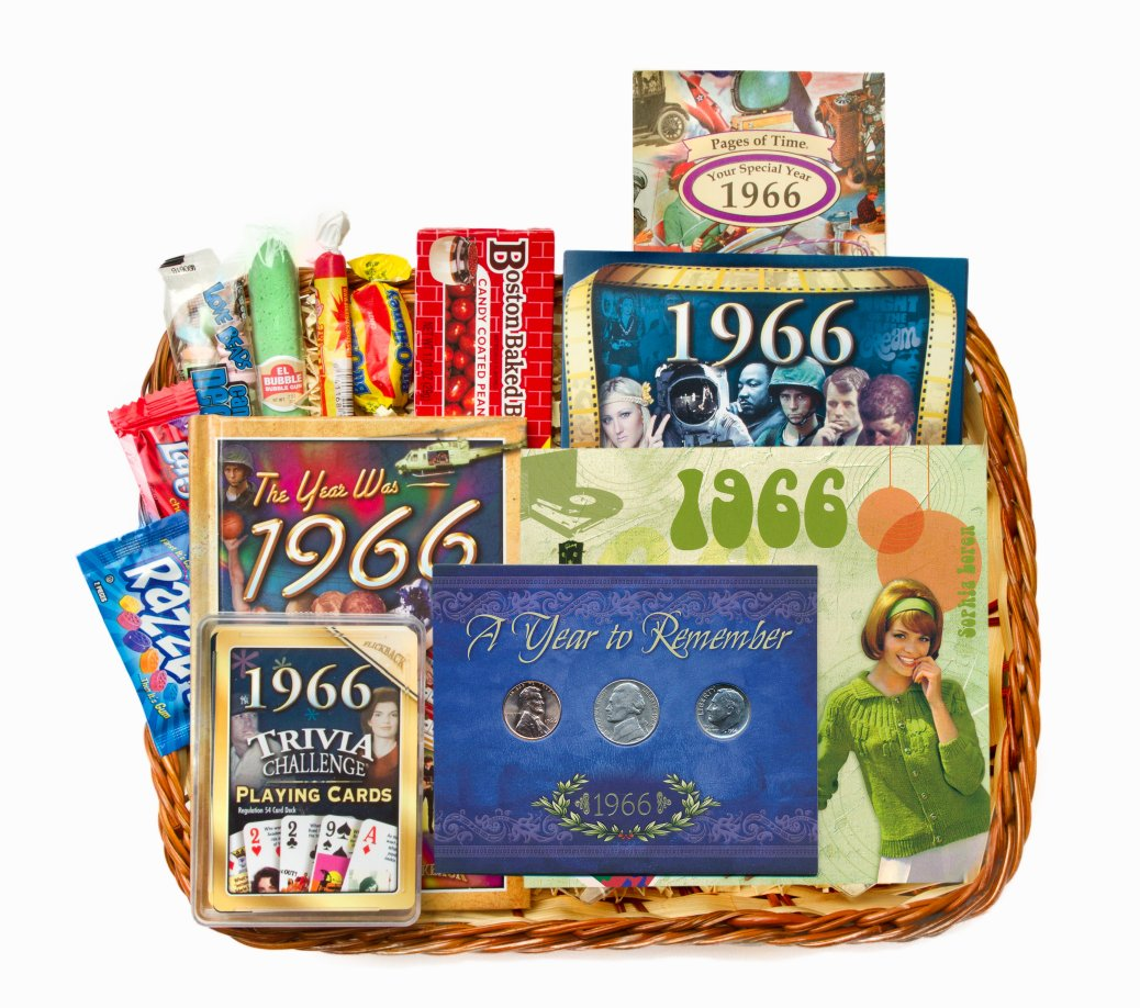 Gift Basket For 50 Year Old Woman Th Birthday Or On