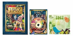 50th Birthday Gift Package: Book, Music & DVD for 1967