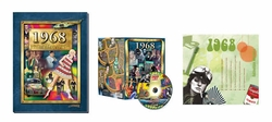 50th Birthday Gift Package: Book, Music & DVD for 1968