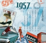 60th Birthday Music for 1957