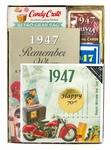 70th Gift Basket - 1947 Time Capsule