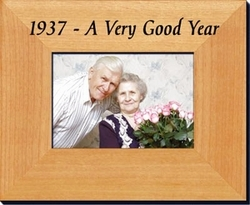80th Birthday Frame from 1937
