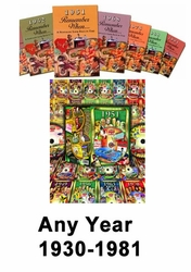 DVD and Book for Any Birth Year