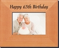 65th Birthday Frame -    5 x 7