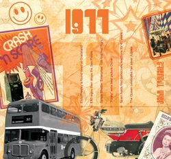 40th Birthday Music for 1977