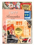 Personalized 40th Birthday Time Capsule for 1977