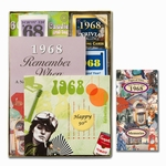 Personalized 50th Birthday Time Capsule for 1968