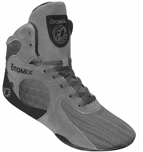 Grey Stingray Bodybuilding Weightlifting Training Shoe