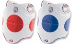 Taekwondo Reversible Chest Guard with Targets