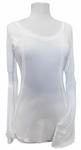 FINAL SALE! Soft White Tunic with Flared Bell Sleeves