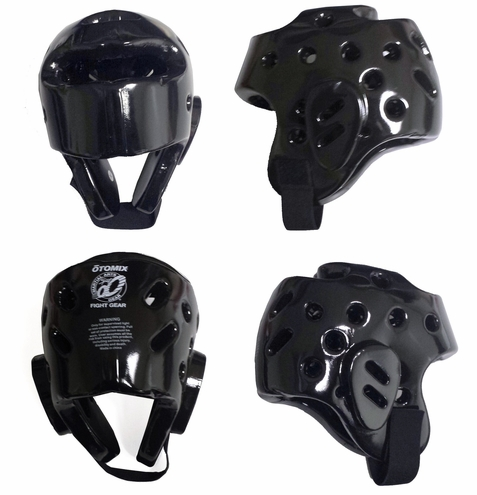 Black Sparring Headgear