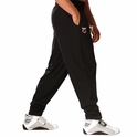 Bodybuilding Weightlifting Muscle Black Baggy Workout Gym Pants