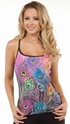 Bright Peacock Mystic Cami