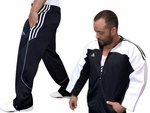 Adidas BUDO (Adult & Kids) Jacket & Pant Athletic Jog Suit Set
