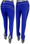 BUM Athletic Sports Lycra Zipper Leggings