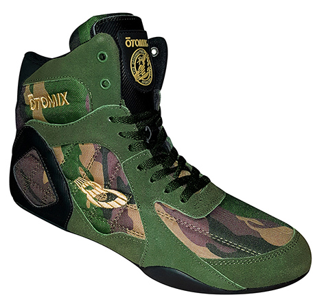 Camo Ninja Warrior Combat Weightlifting & Bodybuilding Shoe