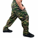 Camouflage Baggy Muscle Workout Pants