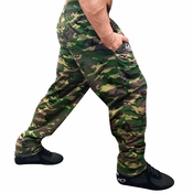 Camouflage Baggy Weightlifting Workout Pants