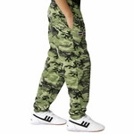 Kids Camouflage Gym Pants