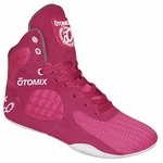 Womens Pink Weightlifting Fitness Shoes