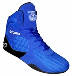 Otomix Royal Blue Stingray Bodybuilding MMA Flat Sole Lifting Shoe