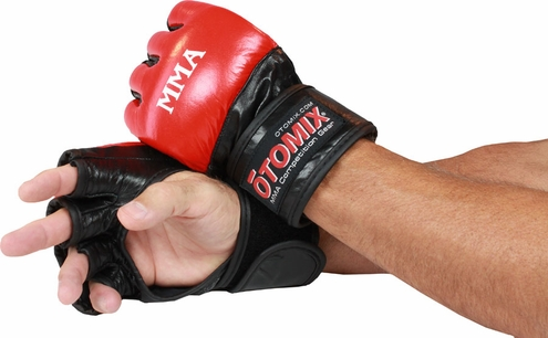 MMA Leather Free Fight Gloves