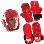Otomix Red or Black Karate Taekwondo Sparring Gear Set