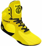 Yellow Stingray Bodybuilding MMA Shoe Final Sale