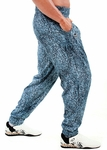Pain & Gain Blue Stonewash Baggy Muscle Pant