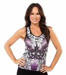 Purple Wing Yoga Tank