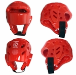 Red Foam Sparring Headgear
