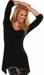 Classic Solid Tunic Top