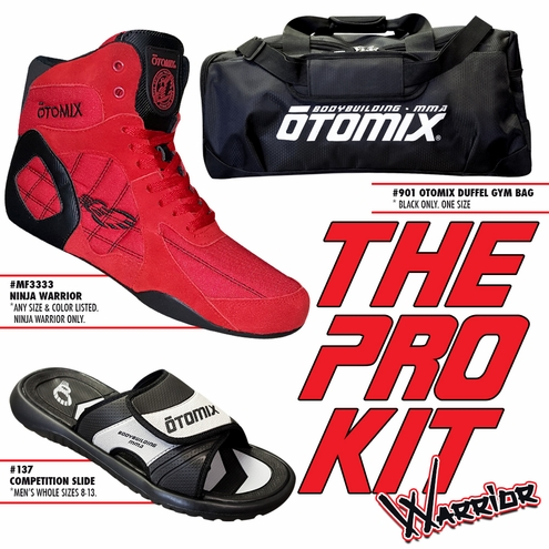 Ninja Warrior Bodybuilding MMA Kit