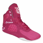 Pink Womens Bodybuiling, MMA and Boxing Shoes