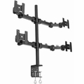 4x Quad Monitor Mounts