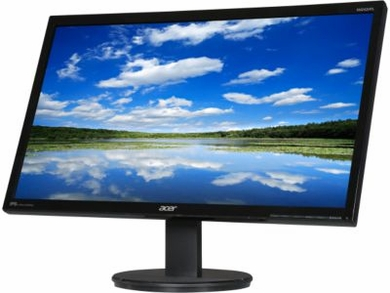 """Acer KN242HYL Black 23.8"""" 4ms G to G HDMI Widescreen LED Backlight LCD Monitor IPS"""