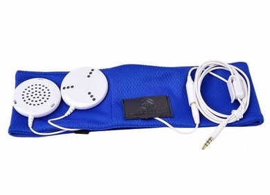 Aerial7 Sound Disk Work Out Headphones / Headband - Blue