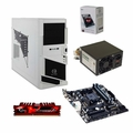 AMD A4-6300 Dual Core 4GB DDR3 Thermaltake Barebones System Kit
