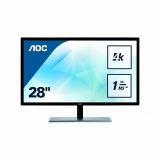 "AOC INTERNATIONAL U2879VF 28"" 3840X2160 TFT LED Backlight Monitor"