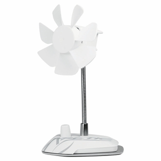 Arctic Breeze Color USB Desktop Fan - White