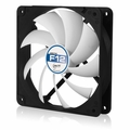 Arctic Cooling F12 120mm Arctic F Low Noise Case Fan (Black / White)
