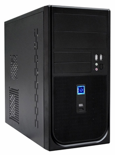Ark Technology PN02 mATX Mini-Tower PC Case with 500W PSU (Black)