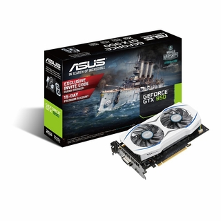 Asus Gtx950-2G Geforce Gtx950 2Gb Gddr5 Video Card