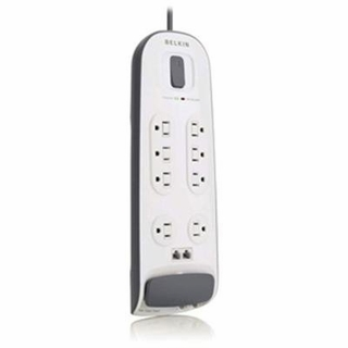 Belkin BV108200-06 6 ft Power Cord 8 Outlet Surge Protector with RJ11