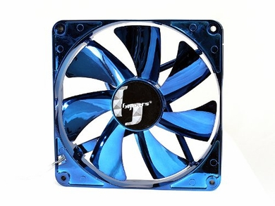 Bgears BG01572 B b-ice 140mm Blue LED Fan with Blue Chrome Coating