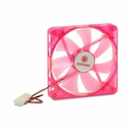 Coolmax CMF-1425-RD UV Reactive 4-Red LED Case Fan w/4-Pin Connector (Red) 140mm