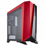 CORSAIR Carbide Series SPEC-OMEGA Mid-Tower Tempered Glass Gaming Case Black and Red CC-9011120-WW