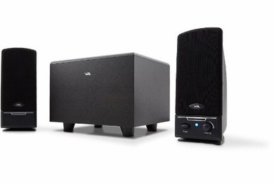 Cyber Acoustics 3-Piece 2.1 Channel Speaker System - CA-3001RB